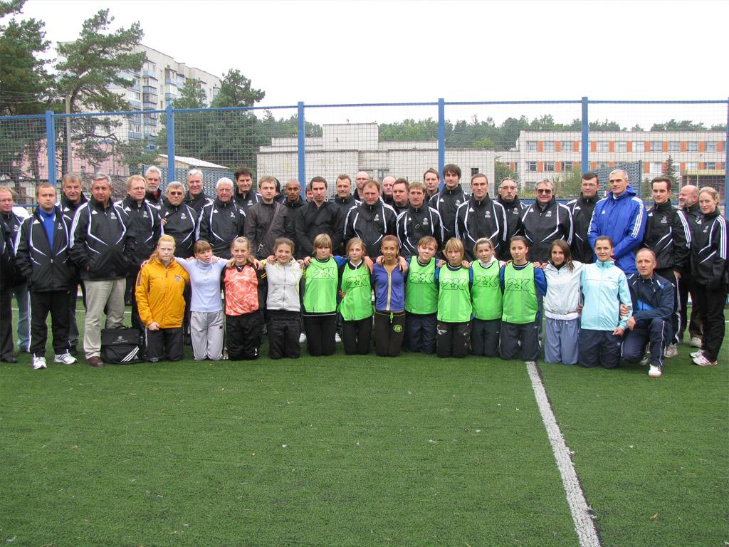 семинар УЕФА, футбол, женский футбол, Коцюбинское, футзал, Беличанка