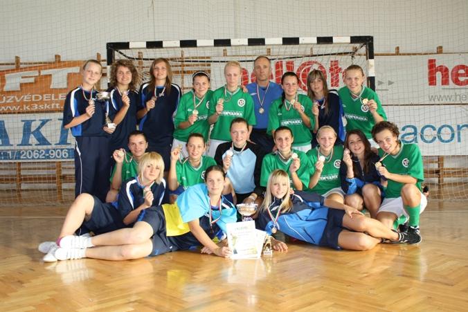 Беличанка, womens futsal, женский футзал, мини-футбол, Thelena Cup, Thelena Kupa, Tolna-Mözs, Hungary