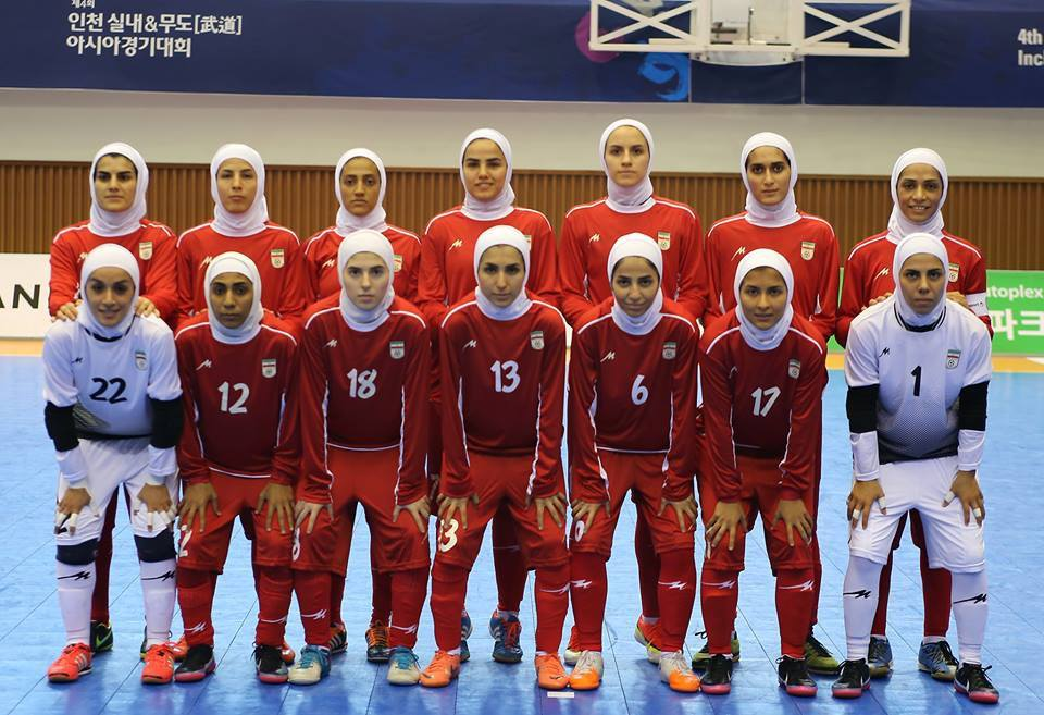 Incheon 2013, азия, Asian Indoor Games, Women Futsal, Чемпионат Азии по футзалу