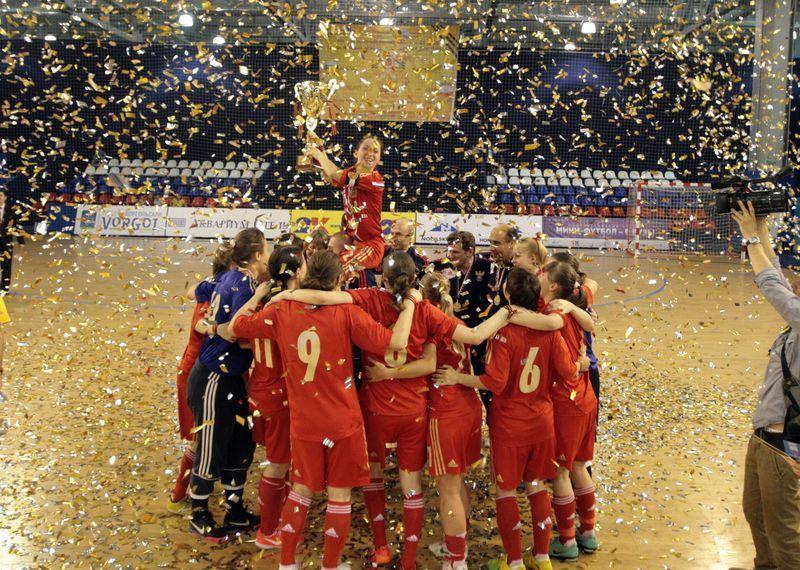 АМФР, Россия, женский футзал, мини-футбол, женская сборная по футзалу, Беличанка, турнир, 9 мая