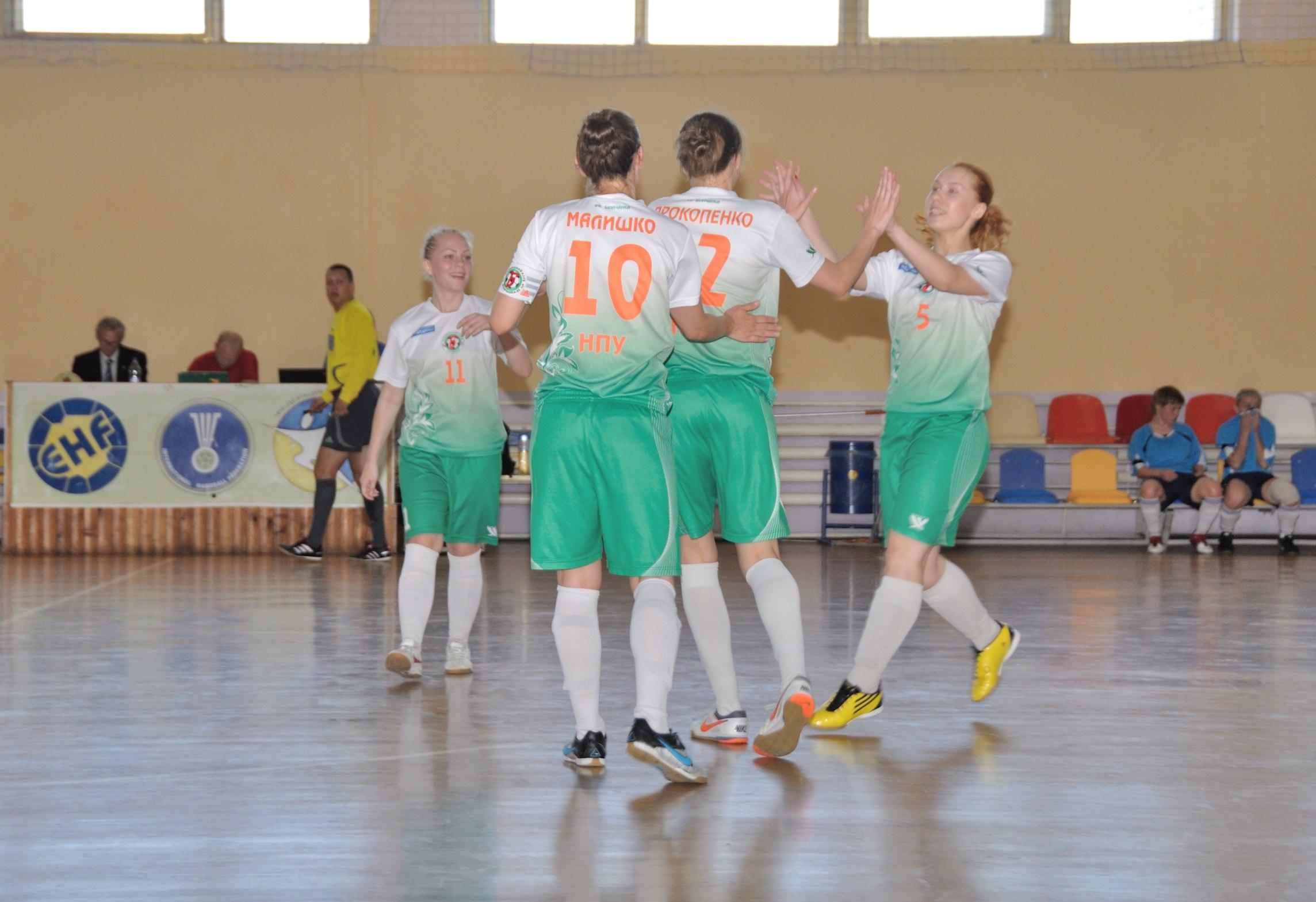 Беличанка, Коцюбинське, фінал 2013, жіночий футзал, Біличанка-НПУ, женский мини-футбол, Нові Обличчя