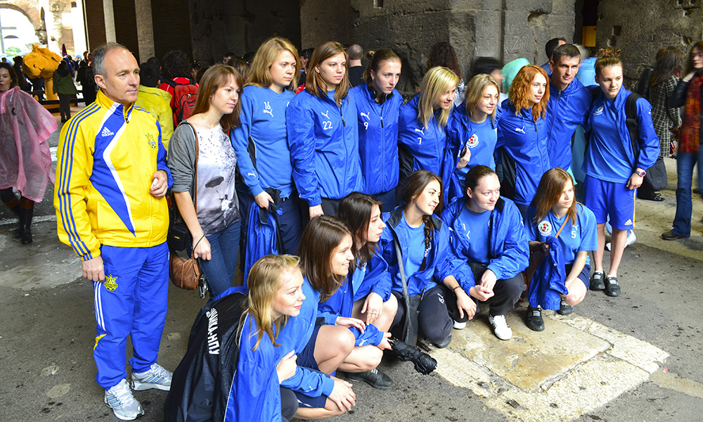 Беличанка, Рим, FB5 TEAM ROME, FIGC, Италия, ROMA CAPITALE 2013, Международный турнир, женский футзал, the Province of Rome, Біличанка