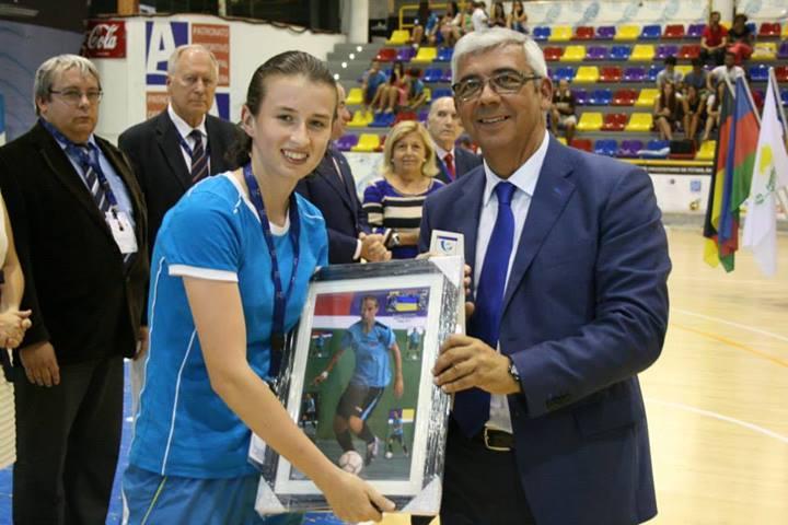 Top scorer: Klipachenko Anastasia - Dnipropetrovsk National Academy (UKR), 10 goals