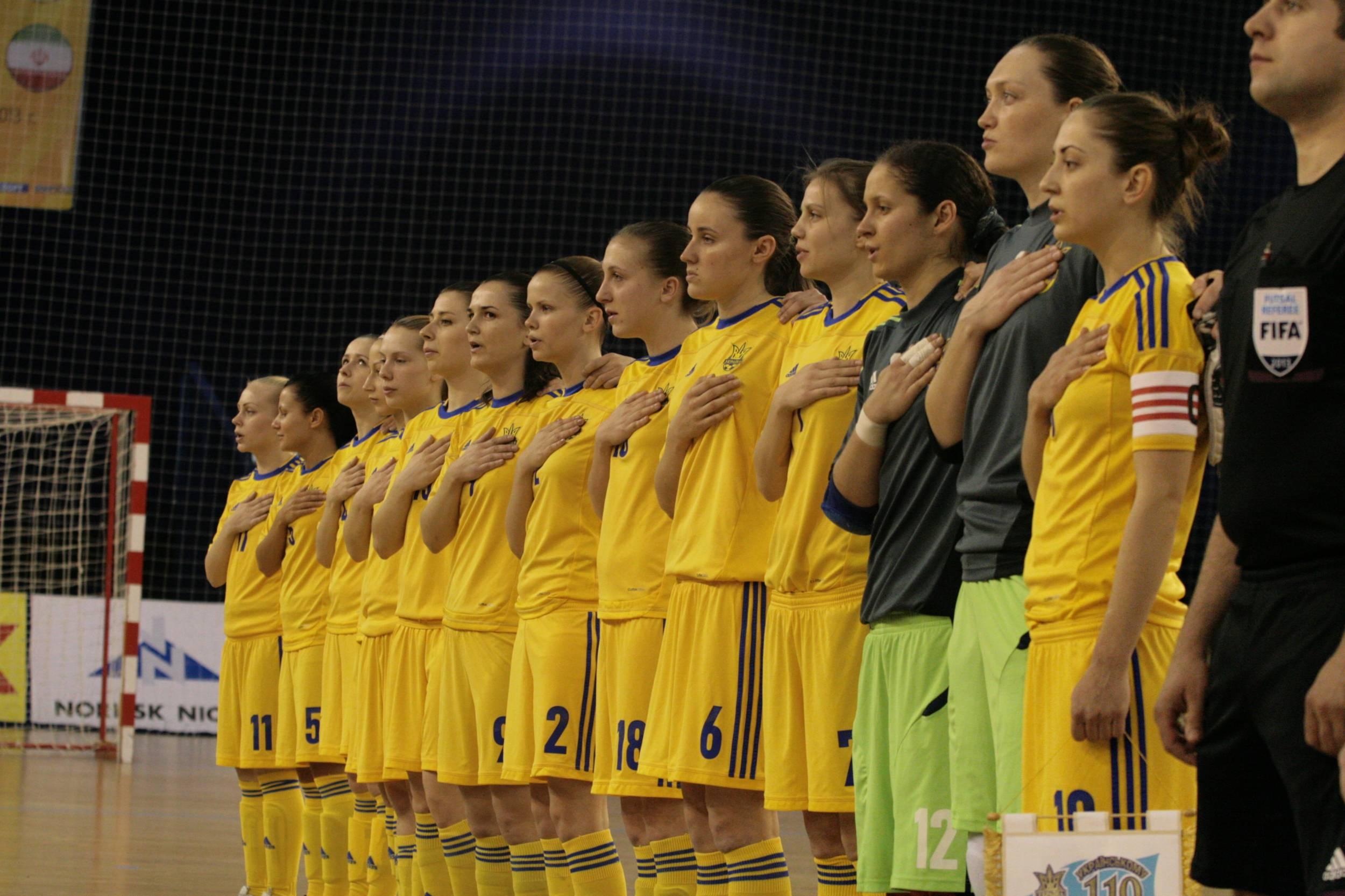 мини-футбол, посвященный 9 мая 2013, женская сборная России, женская сборная Украины, женский футзал, Международный женский турнир