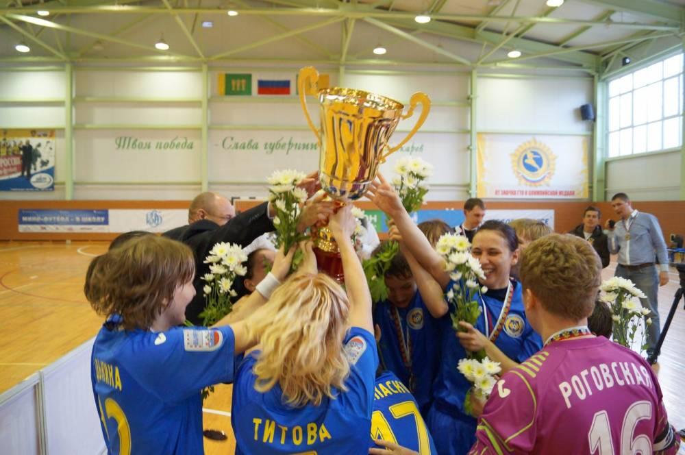 АМФР, женский футзал, Юлия Титова, Алина Горобец, россия, Лагуна УОР, женский мини-футбол