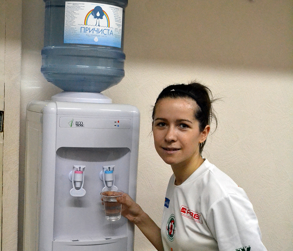 ТМ Причиста, вода, доставка води, партнери, Беличанка, Біличанка, женский футзал, футзал, futsal