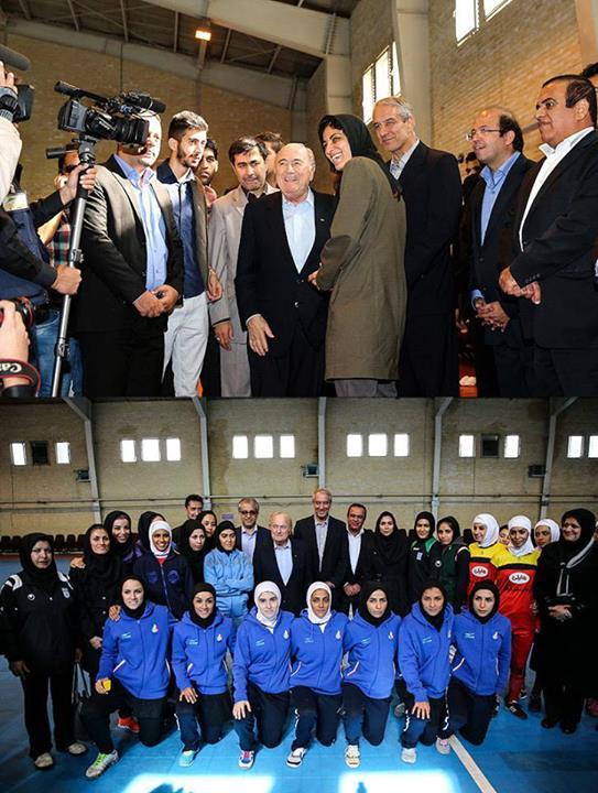FIFA president Sepp Blatter, 2019 Asian Cup, Hassan Rouhani, Tehran