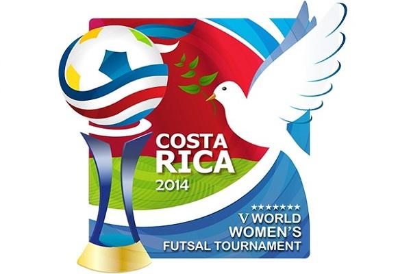 Costa Rica Mundial, futsal mundial 2014, femenino, V Torneio Mundial de Futsal Feminino, FIFA, UEFA, жіночий футзал, минифутбол, ФФУ, logo