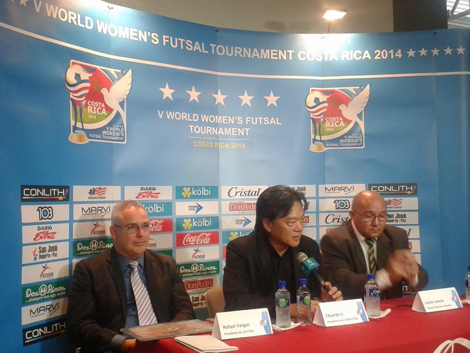 FIFA, Women World Futsal Tournament, futsal mundial 2014, uefa, V Torneio Mundial de Futsal Feminin, Costa Rica Mundial, femenino, жіночий футзал