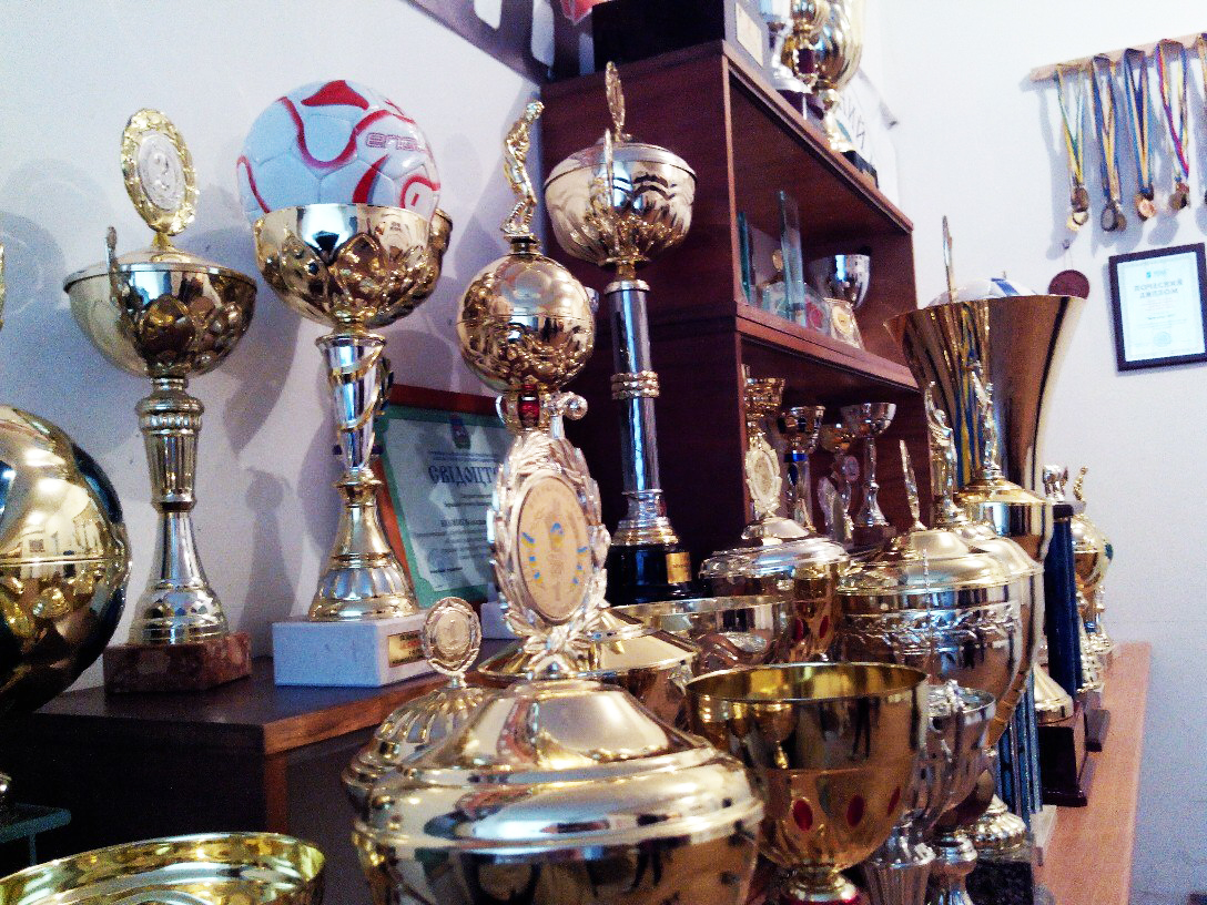 клуб, Біличанка, ДЮСШ, Коцюбинське, футзал, Беличанка, женский футзал, мини-футбол, здобутки, награды, кубки, музей