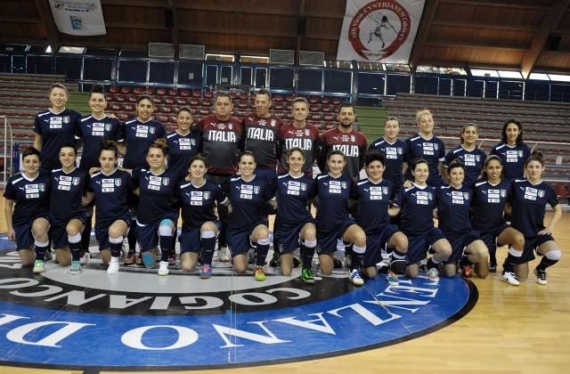 Nazionale femminile, a5, italiana femminile di futsal, Calcio a 5, збірна Італії, жіночий футзал, женский футзал, Италия, Roberto Menichelli