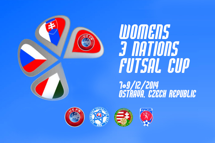 Hungary, Slovakia, Czech Republic, womens futsal, nations cup, Ostrava, 2014, WOMEN TOURNAMENT, жіночий футзал, UEFA, Ženská reprezentace, magyar női válogatott