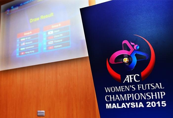 AFC Women Futsal Championship 2015, AFC Futsal, Womens Futsal Asia, Чемпионата Азии по футзалу, Футзал, Иран, Япония, Malaysia