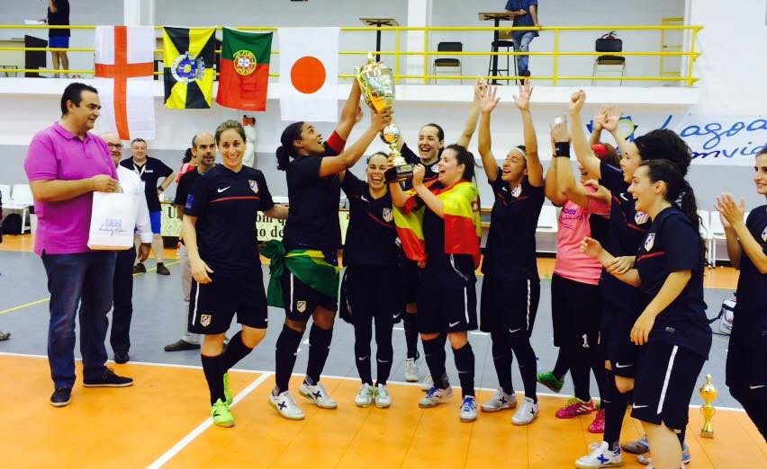 Atletico Madrid,Women's Futsal Nations Cup, VII Taça Nações, Futsal Feminino, Lagoa, Portugal 2015, футзал, Кубок Націй, жіночий футзал, женский мини-футбол