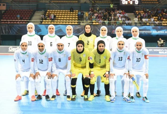 AFC Women Futsal Championship 2015, AFC Futsal, Womens Futsal Asia, Чемпионата Азии по футзалу, Футзал, Иран, Iran futsal