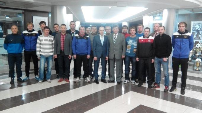 С-диплом, УЕФА, АФУ, футзал, асоціація, Україна, Біличанка, Колок, тренери, навчання, ліцензія, ФФУ