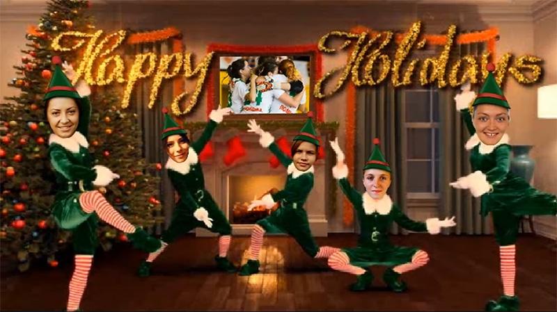 ВІдео, святкування, Новий Рік, Біличанка, Беличанка, праздник, Xmas, Новый год, вітання, свято, клуб, команда, Різдво, Католики