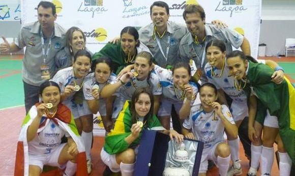 Womens Futsal Nations Cup 2010, Kebrostress, futsal, Futsal Nations Cup, Algarve, Lagoa, Unochapecô (Brazil)