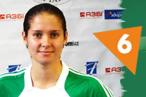 Беличанка, Наталья Бесидовская, 6 номер, женский футзал, игрок, 2012