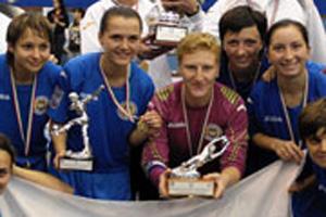 Алина Горобец, футзалистка, НПУ, Коцюбинское, женский футзал, Лагуна УОР, Пенза, Беличанка