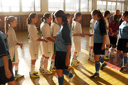 Беличанка, чемпионат, Гребенка, ДЮСШ, юноши, женский футзал, мини-футбол, 1997-1996, девушки