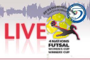 Women's Cup, FC Vermoim, женский футзал, Kickoff C5 Femminile, MFC Laguna-Uor Penza, WINNERS CUP, FSF Mostoles