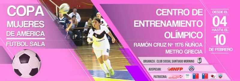 Южноамериканский клубный чемпионат по футзалу, 2nd CONMEBOL Women Futsal Club Cham, COPA MUJERES DE AMERICA 2013, Copa Mulheres da América, 2º Sul-Americano de Clubes futsal