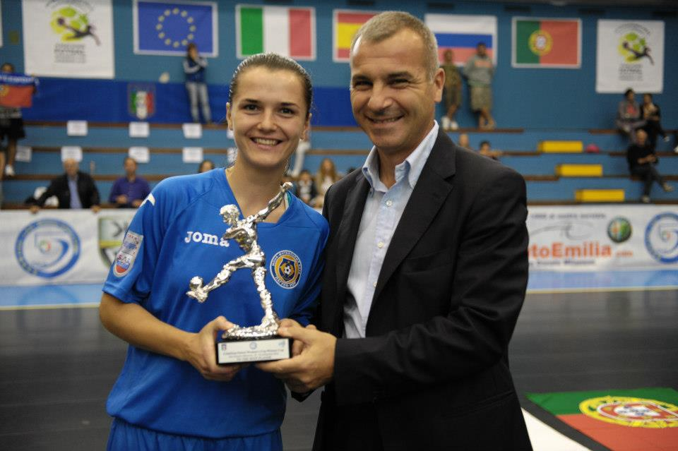 Women's Cup Winners' Cup, Алина Горобец, Беличанка, Лагуна-УОР, Alina Gorobets