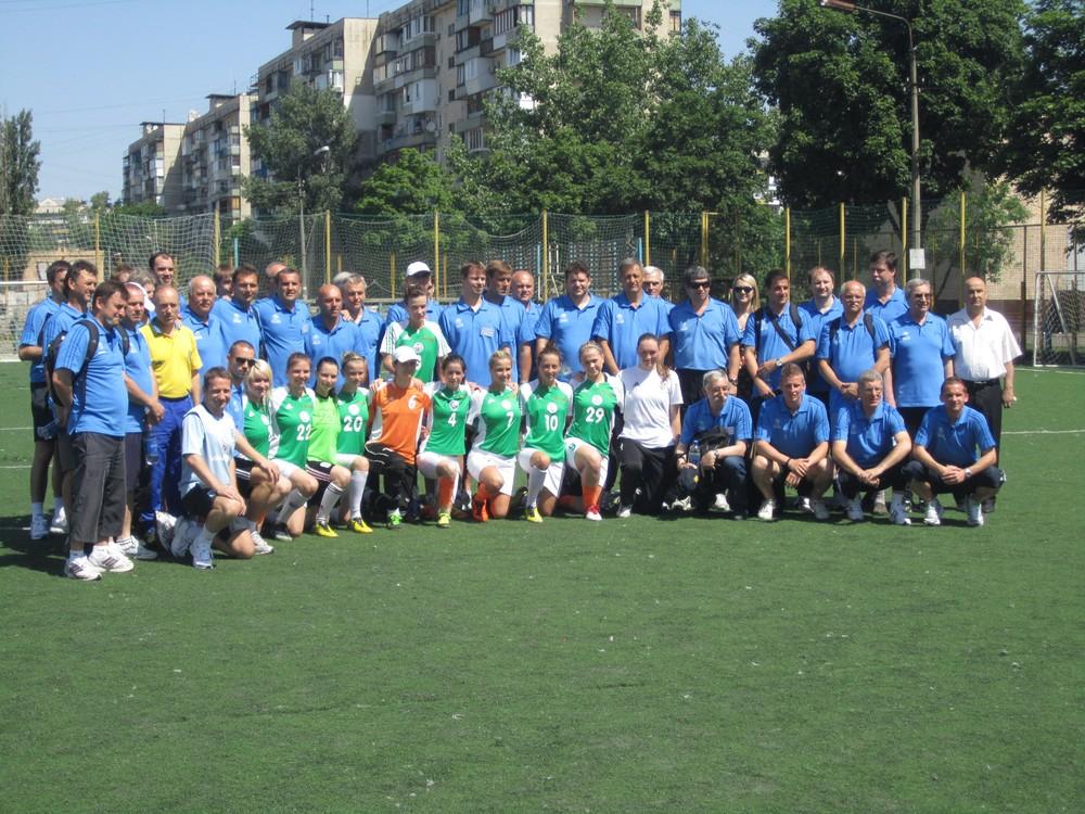 Study Group Scheme, FFU, UEFA, Беличанка, Колок Владимир, ФФУ