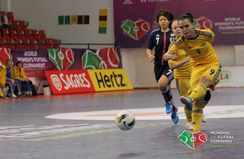 Титова Юлия, Горобец Алина, сборная Украины, Лагуна УОР, женский футзал, женский мини-футбол