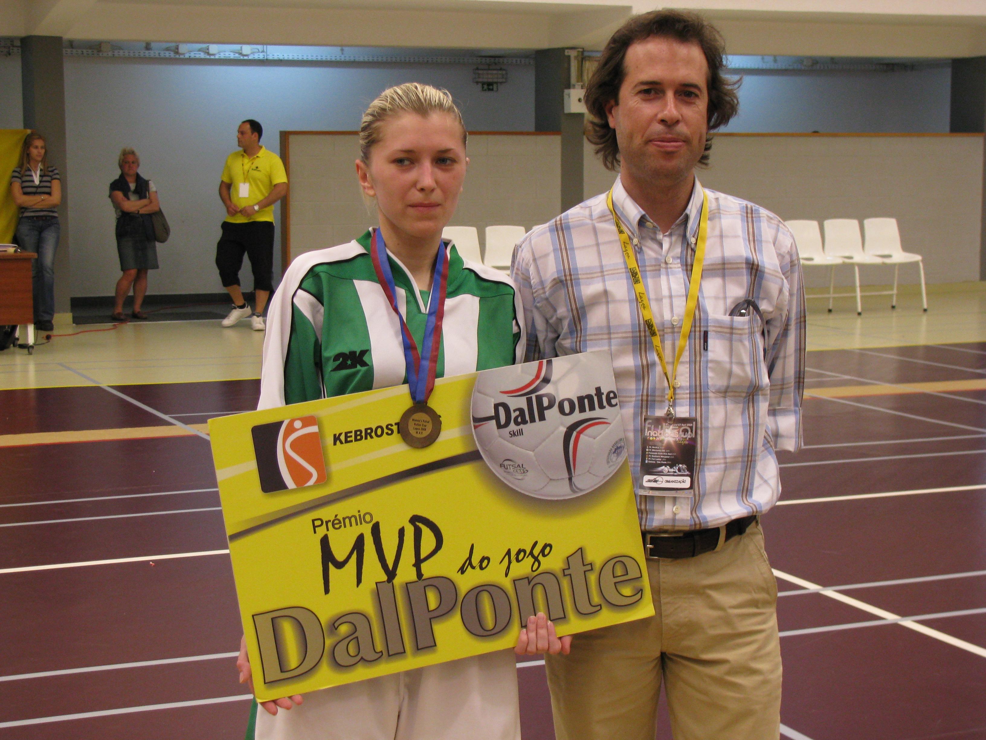 Julia Forsiuk, Womens Futsal Nations Cup 2008, Kebrostress, futsal, Futsal Nations Cup, Algarve, Lagoa, FC Belichanka