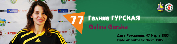 Галина Гурская, Беличанка НПУ, Беличанка 93