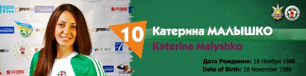 Малышко Катерина, Беличанка 93, Беличанка НПУ