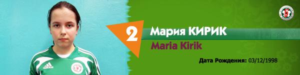 Кирик Мария, Беличанка ДЮСШ, Беличанка-93
