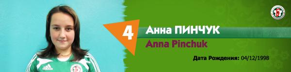 Пинчук Анна, Беличанка ДЮСШ, Беличанка 93